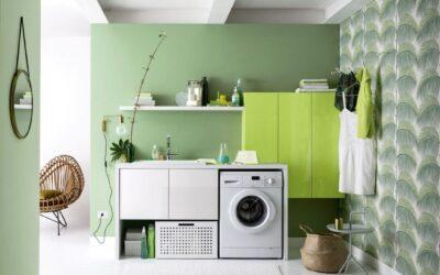 La lavanderia : soluzioni salva spazio
